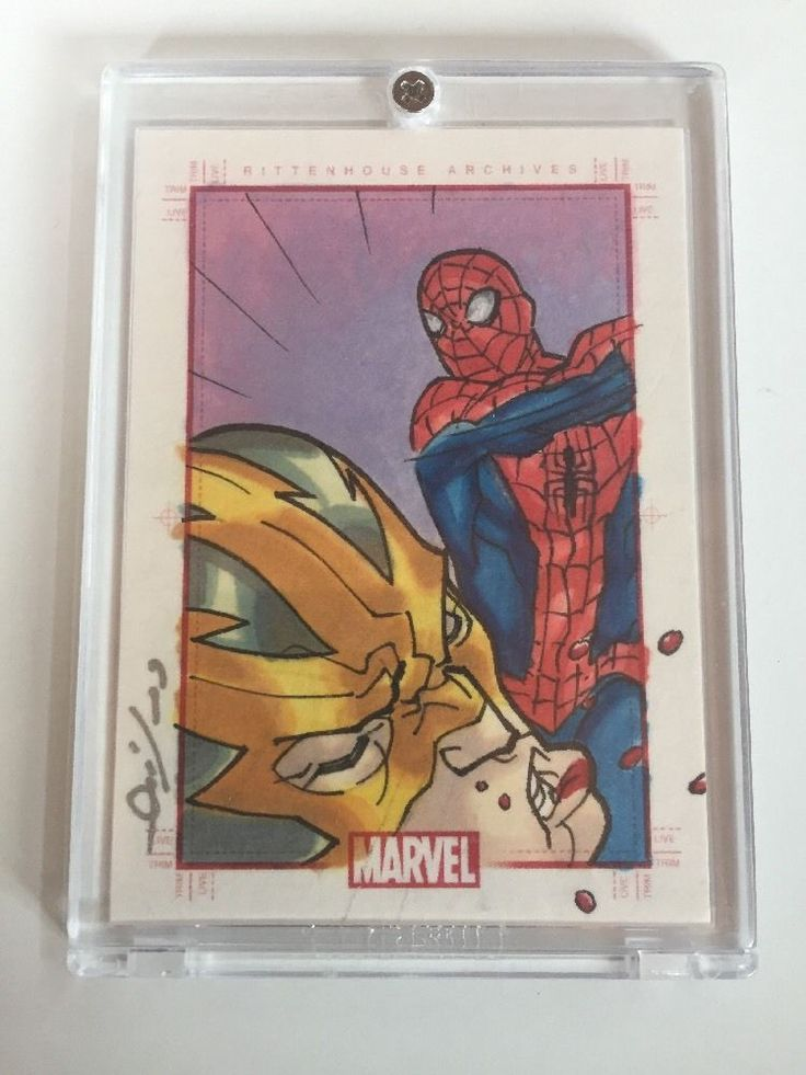 2009 RITTENHOUSE 70 YEARS OF MARVEL SPIDERMAN ELECTRO SKETCHAFEX SKETCH CARD