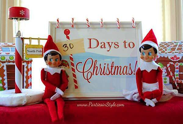 Elf on the Shelf announcing only 30 days  to Christmas....8230770214_36ea25c69e_z_600x407