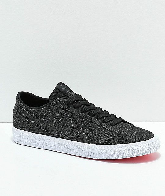 aeca24ff4aa Nike SB Blazer Zoom Low Deconstructed Anthracite Denim Skate Shoes Men s Sz  10  fashion