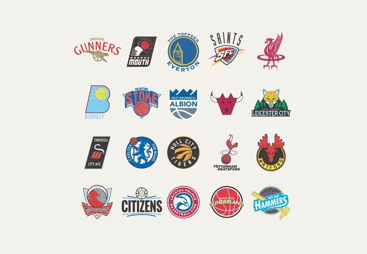 Claramente la NBA es la liga de basketball más famosa del mundo, y en el fútbol el mismo rol cumple la Premier League. Mezclando lo mejor de los dos mundos el diseñador inglés Liam Heath rediseñó los logos de los equipos de la liga inglesa con la frescura e identidad de las insignias de los …