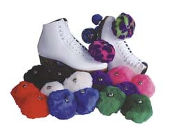 Roller Skates with pom poms!  The4se were the coolest prize!