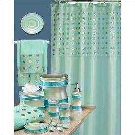 Sequins Bath Collection | Shower Curtains | Brylanehome