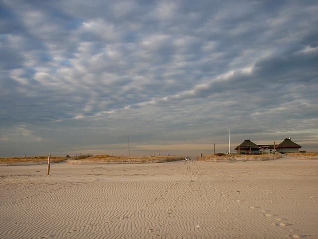Ponquogue Beach In Hampton Bays NY