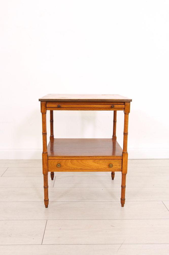 Wunderschoner Beistell Tv Tisch Ablage Englisch Antik Stil Bar Tisch Raritat Tv Tisch Tisch Antik