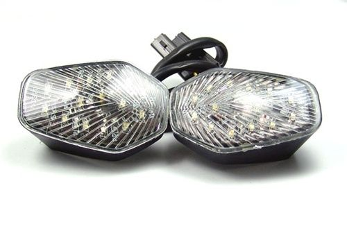 Mad Hornets - Front Indicators Flush Mount LED Turn Signals Suzuki GSXR 600/750 (2000-2005), GSXR 1000 (2001-2004), Smoke or Clear, $24.99 (http://www.madhornets.com/front-indicators-flush-mount-led-turn-signals-for-suzuki-gsxr-600-750-2000-2005-gsxr-1000-2001-2004-smoke-or-clear/)