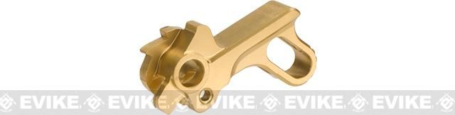 UAC Match Grade Stainless Steel Hammer For Hi-Capa Series Airsoft Pistols Type B - Gold | Evike.com