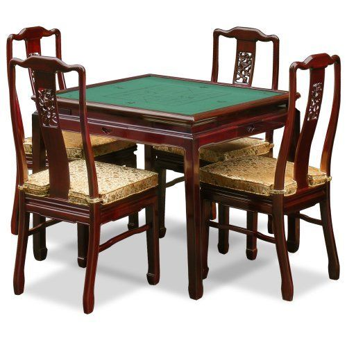 This Beautiful Solid Rosewood Table Has An Adjustable Tabletop That Can Be  Used As A Dinette Or A Game Table. You Will Be Surprised When You See The  ...
