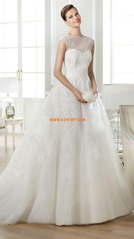Princesové Okouzlijící & dramatický Léto Svatební šaty 2014
