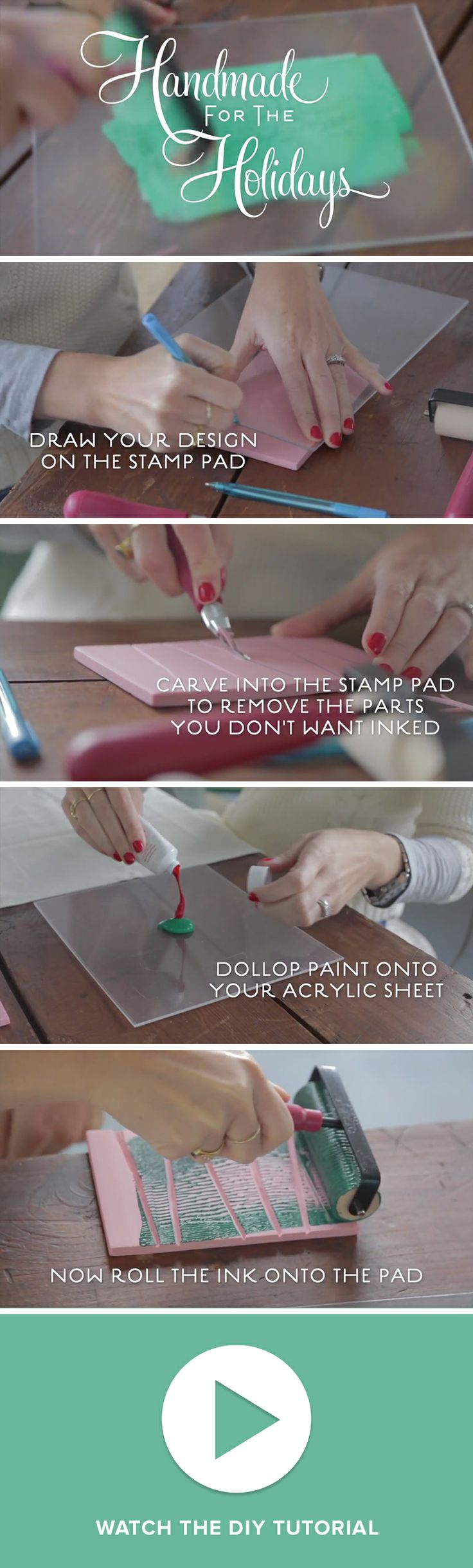 New DIY Video: Learn Block Printing in 4 Steps from Darby Smart and Purewow