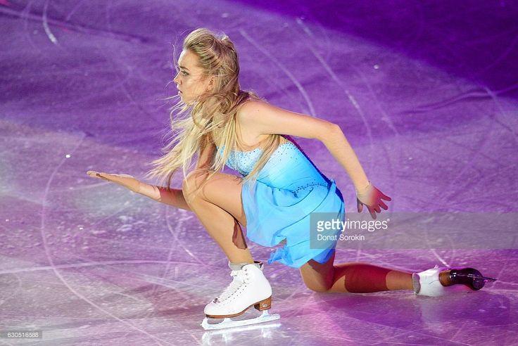 Figure skater Elena Radionova performs during the 2016/2017 Russian Figure Skating Championships exhibition gala. Donat Sorokin/TASS