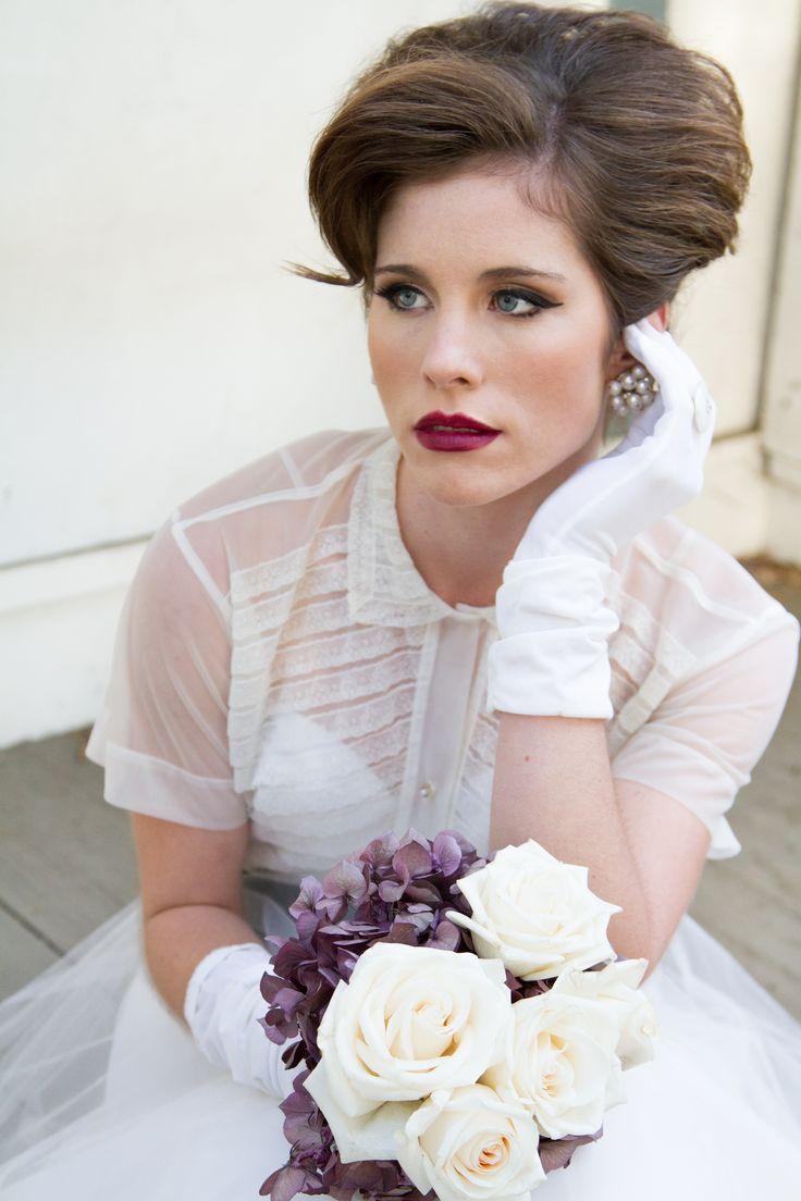 7 best A Sophisticated 1950\'s Bride images on Pinterest | Short ...