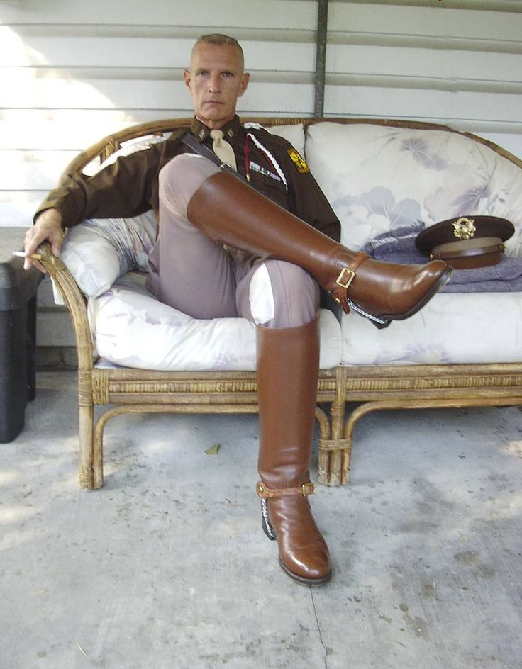 High boot gay