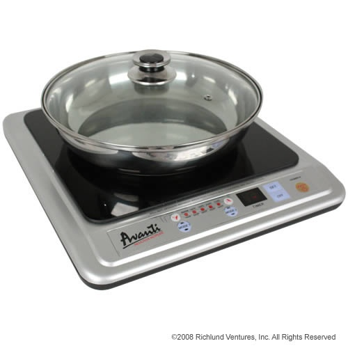 the avanti induction hotplate with skillet model ihp1501 by compact appliance solutions - Avanti Appliances