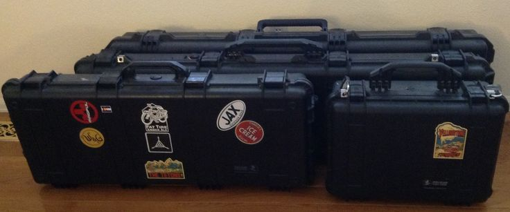 Tool boxes?  Suitcases?  Just a big family of Pelican's. 1520, 1700, 1750 and the massive im3300.