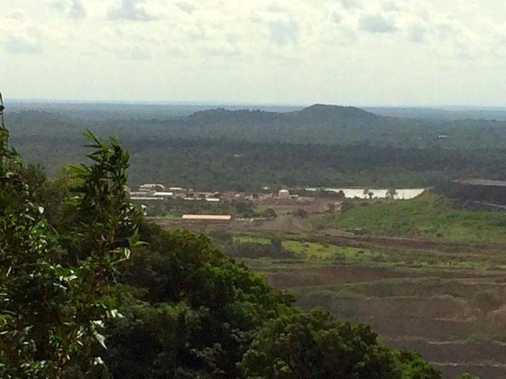 View over the Sabodala mine