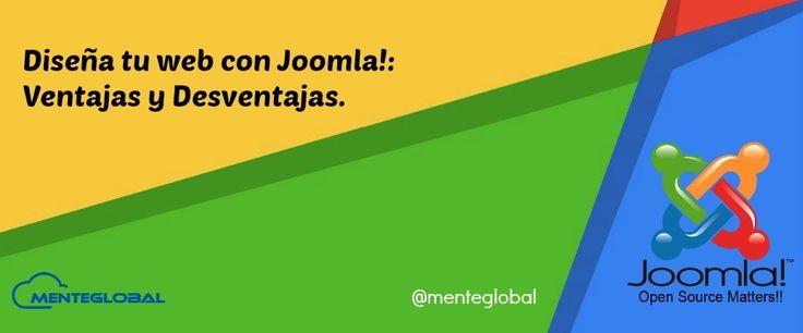 Diseña tu web con Joomla!: ventajas y desventajas