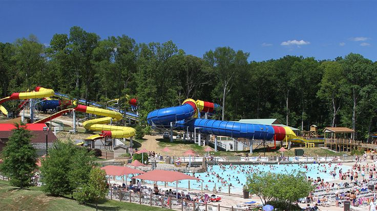 """The Bahari (Swahili for """"immense sea"""") Wave Pool at Holiday World & Splashin' Safari, is a giant, family wave pool with geysers, sprays and jets located on 3/4 of an acre. Stay in the shallow water if you're not a strong swimmer. There are 18 other water slides, rides and features available at the park if the wave pool doesn't work for you."""
