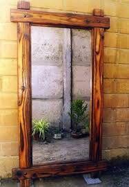 espejo madera - Espejos De Madera