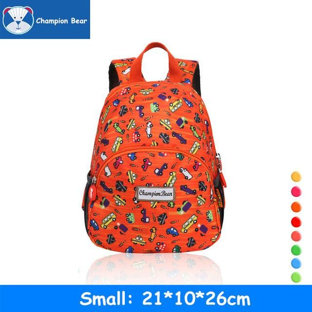 Aged 1-3-5 Toddler Harness Kindergarten Backpack Kids Bag Antilost Baby School Bags Strap Walker Girls Boys Mini Schoolbag