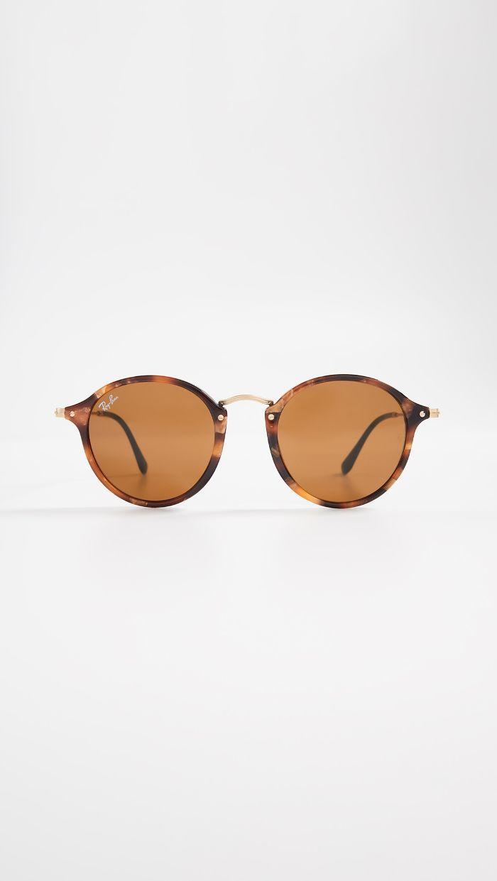 4933e4940da0f Ray-Ban Metal Bridge Round Sunglasses