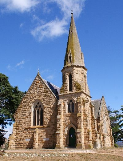 Wesley / Uniting Church - 1885, ROSS, Tasmania!