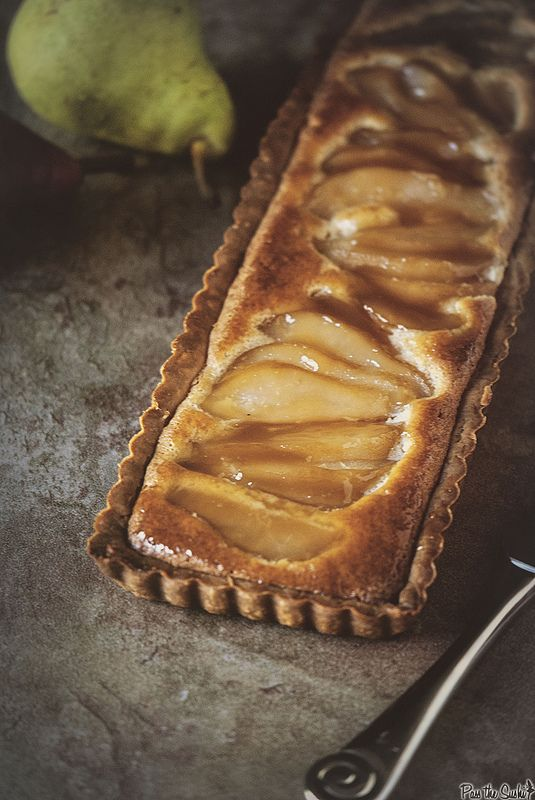 Whiskey Pear Tart – the one thing you should probably make this fall  @passthesushi