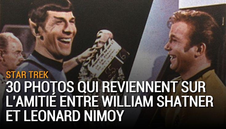 Depuis la création de Star Trek et jusqu'à la mort de Leonard Nimoy le 27 février 2015, les acteurs William Shatner et Leonard Nimoy étaient d'inséparables amis et leur complicité a été maintes fois photographiée.