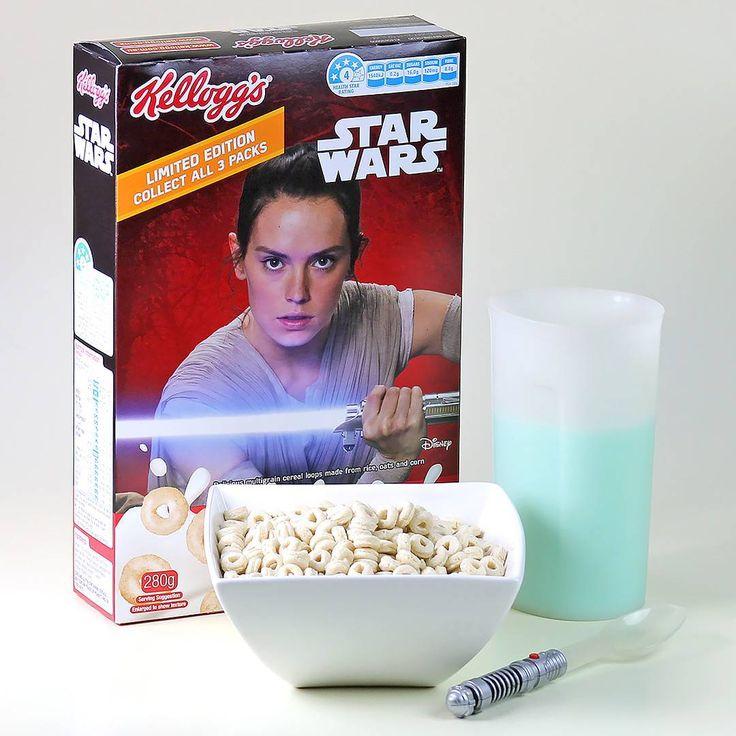 Star Wars NZ - Star Wars cereal and blue milk