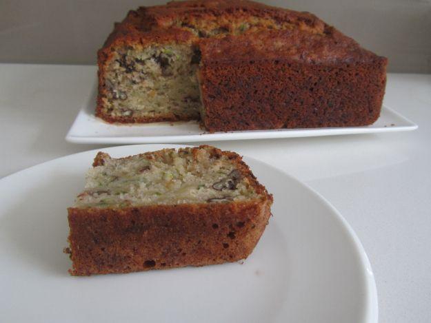 Walnut and zucchini cake