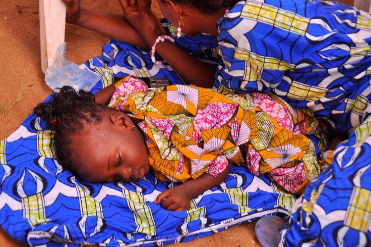 Festival Vodoo Internazionale di Ouidah in Benin i bambini