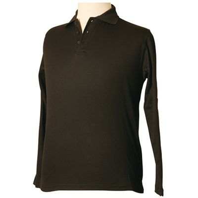 Mens TrueDry Long Sleeve Embroidered Polo Shirt Min 25 - 160gsm, TrueDry mesh knitted 60% Cotton, 40%. CoolDry Natural cotton backing makes it comfortable to wear. #PoloShirts  #PromotionalProducts  #PromotionalPoloShirt  #CooldryPoloShirts #MensPoloShirt  #EmbroideredPoloShirt