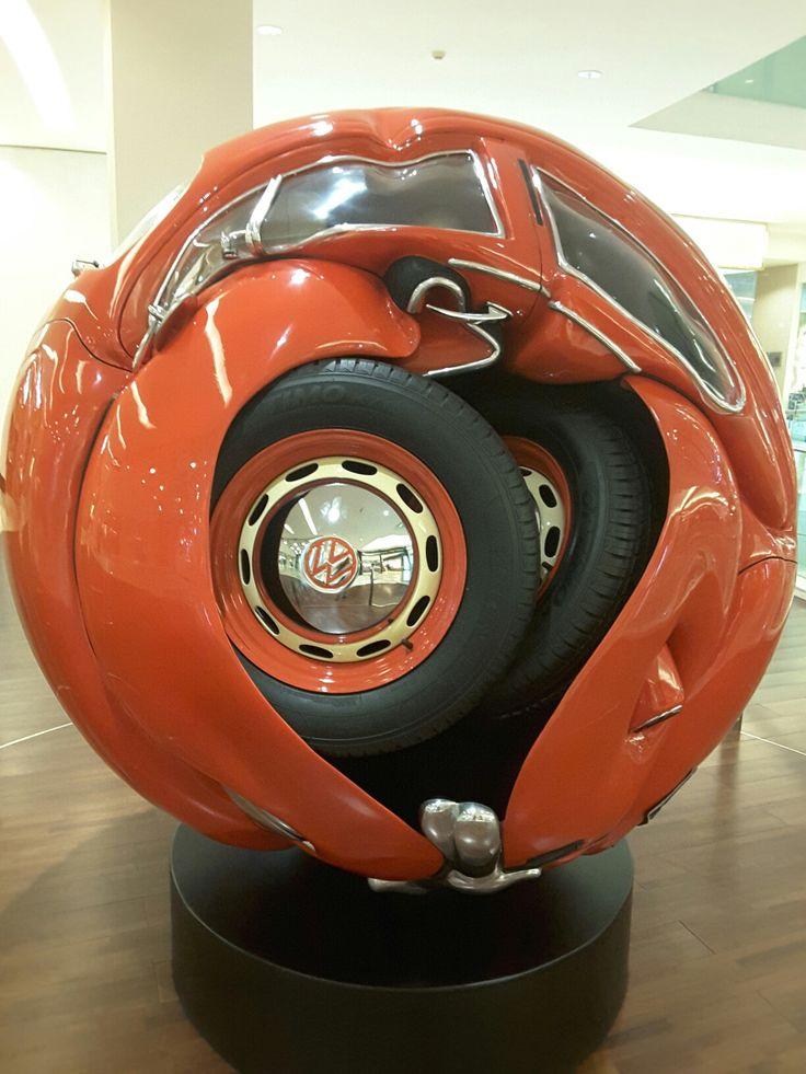 Beetle Sphere, dibuat dr VW Beetle 1953 oleh Ichwan Noor.