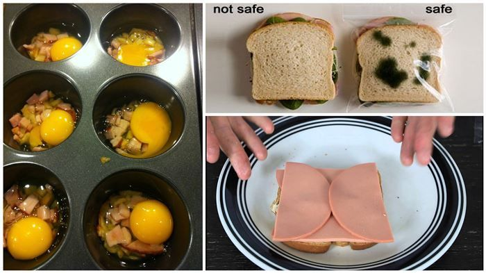 Sandwich hacks- brilliant!