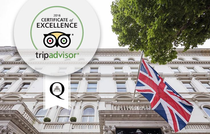 Travelers have spoken! The Queens Gate Hotel has received the Certificate of Excellence from Tripadvisor for 2016. Thank you all for your positive reviews! #TravelersChoice #COE2016 #QueensGate #hotel #hotels #London #UK #Kensington  http://www.thequeensgatehotel.com/