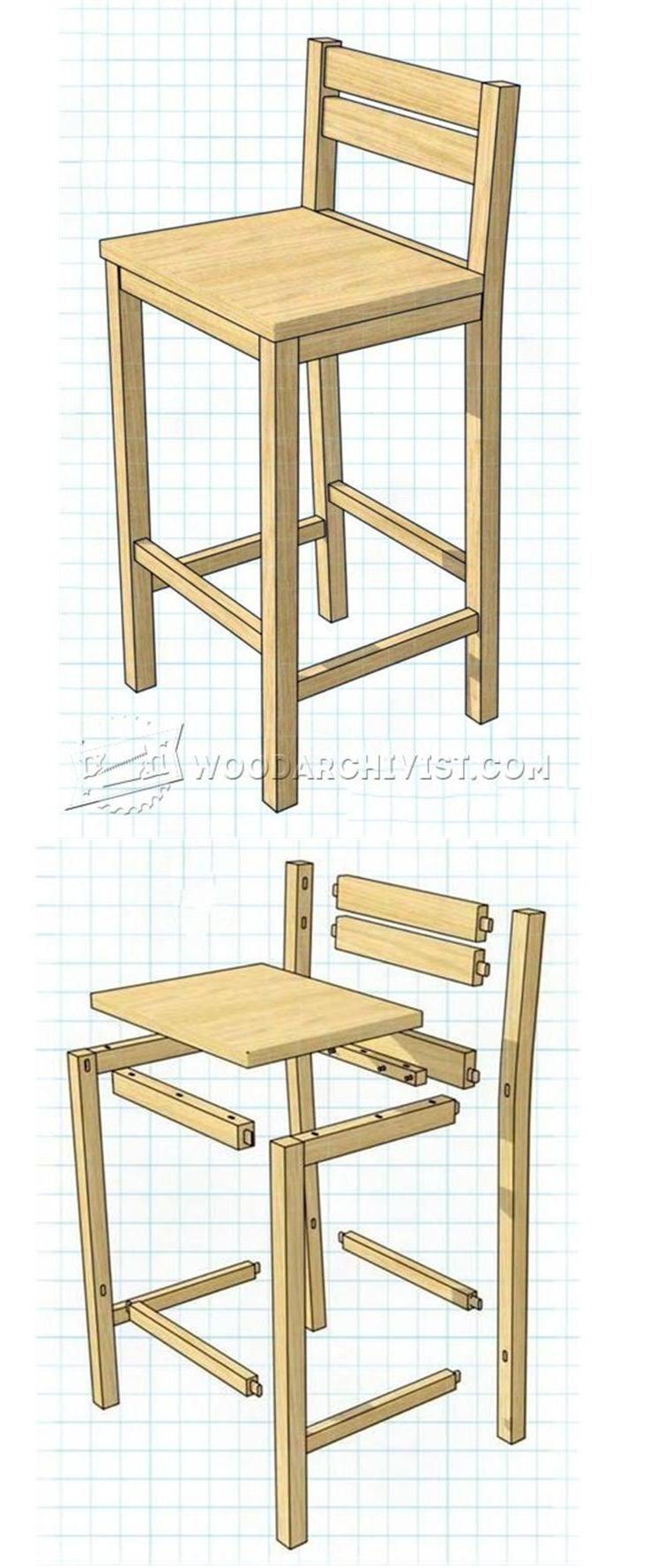 best 20 diy bar stools ideas on pinterest. Black Bedroom Furniture Sets. Home Design Ideas