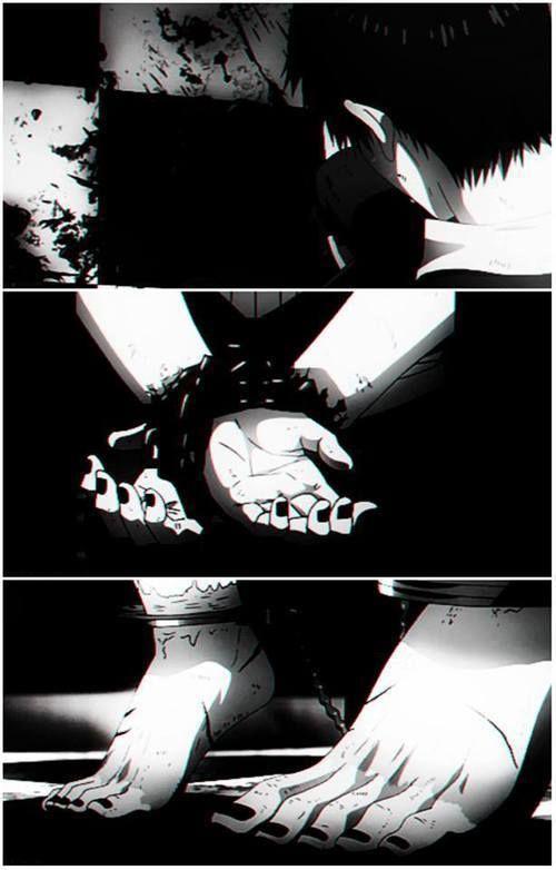 The pain Kaneki felt through these last few episodes of season 1