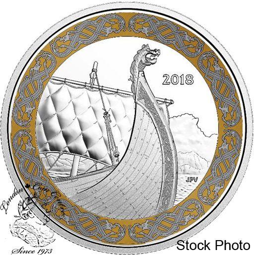 London Coin Centre Inc. - Canada: 2018 $20 Norse Figureheads: Dragon's Sail. 1 oz. Pure Silver Coloured Coin, $104.95 (http://www.londoncoincentreinc.com/canada-2018-20-norse-figureheads-dragons-sail-1-oz-pure-silver-coloured-coin/)