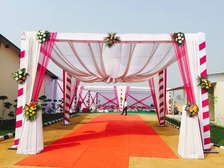336 best door entrance images on pinterest indian bridal indian 10 awesome wedding decorators to fit in every budget weddingplz junglespirit Image collections