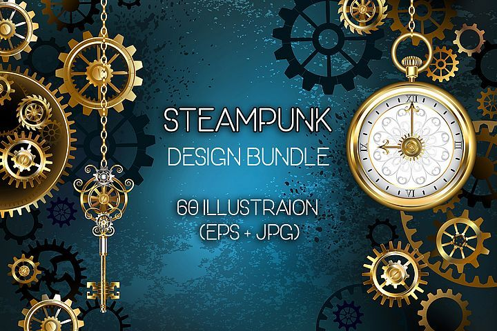 Steampunk Bundle Font  Steampunk is a subgenre of science fiction or science fantasy that incorporates technology and aesthetic designs inspired by 19th-century industrial steam-powered machinery.