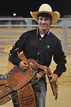 Teenage Cowboys Rexburg Teen Wins Top Cowboy Honor