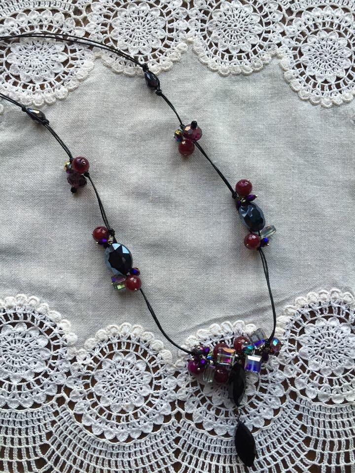 Le chouchou de ma boutique https://www.etsy.com/ca-fr/listing/265264123/night-live-necklace