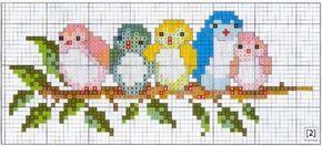 Gallery.ru / Фото #2 - птички на слюнявчик - anethka