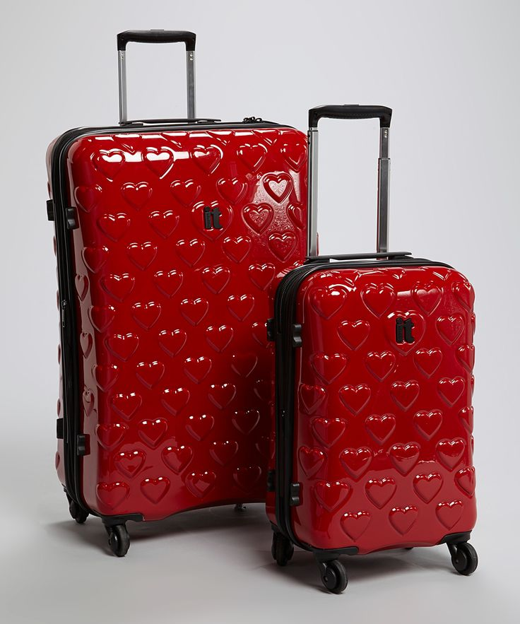Heart Expandable Two-Piece Luggage Set