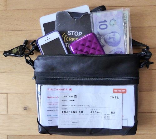 Designing the perfect travel purse