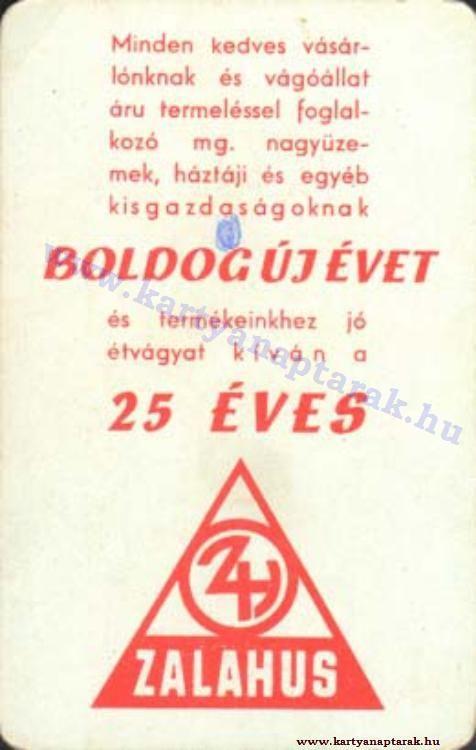 1975 - 1975_0818 - Régi magyar kártyanaptárak