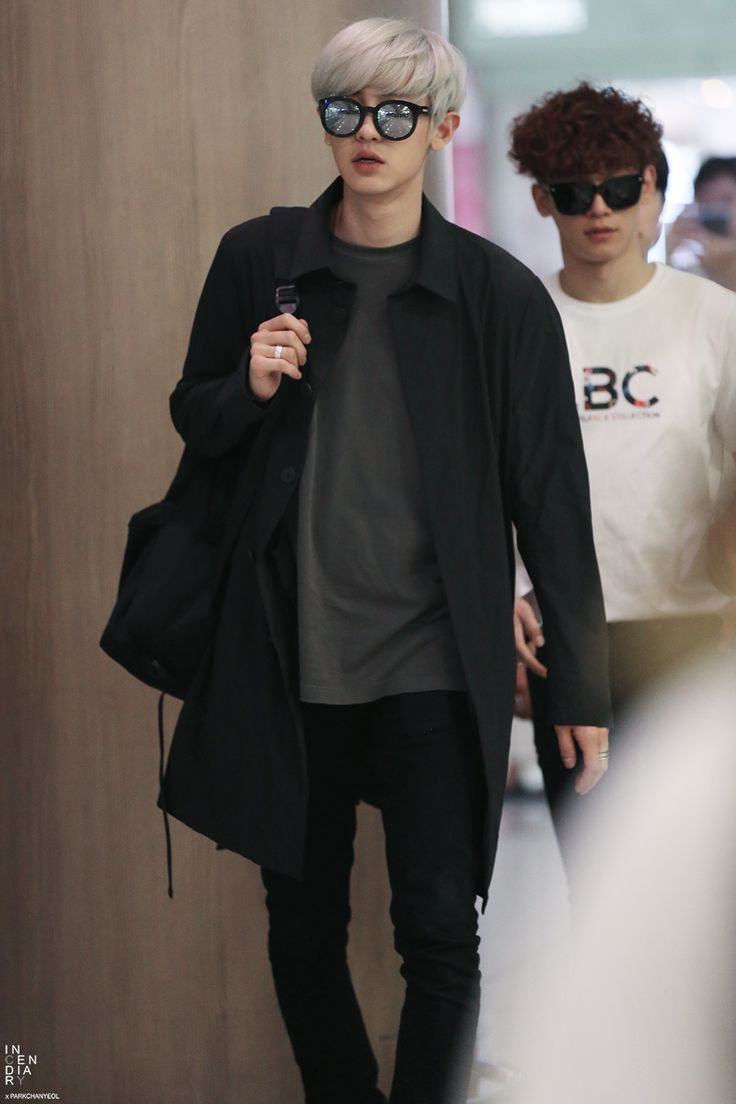 Chanyeol | 150529 Incheon Airport departing for Shanghai