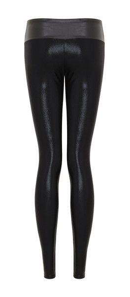 Leggings Black Gloss