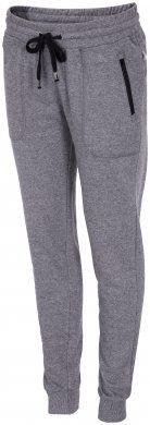 Spodnie dresowe damskie SPDD002 - sól i pieprz melanż