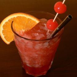 Zombie cocktail drink recipe 1 2 oz bacardi 151 rum 1 oz for Cocktail zombie