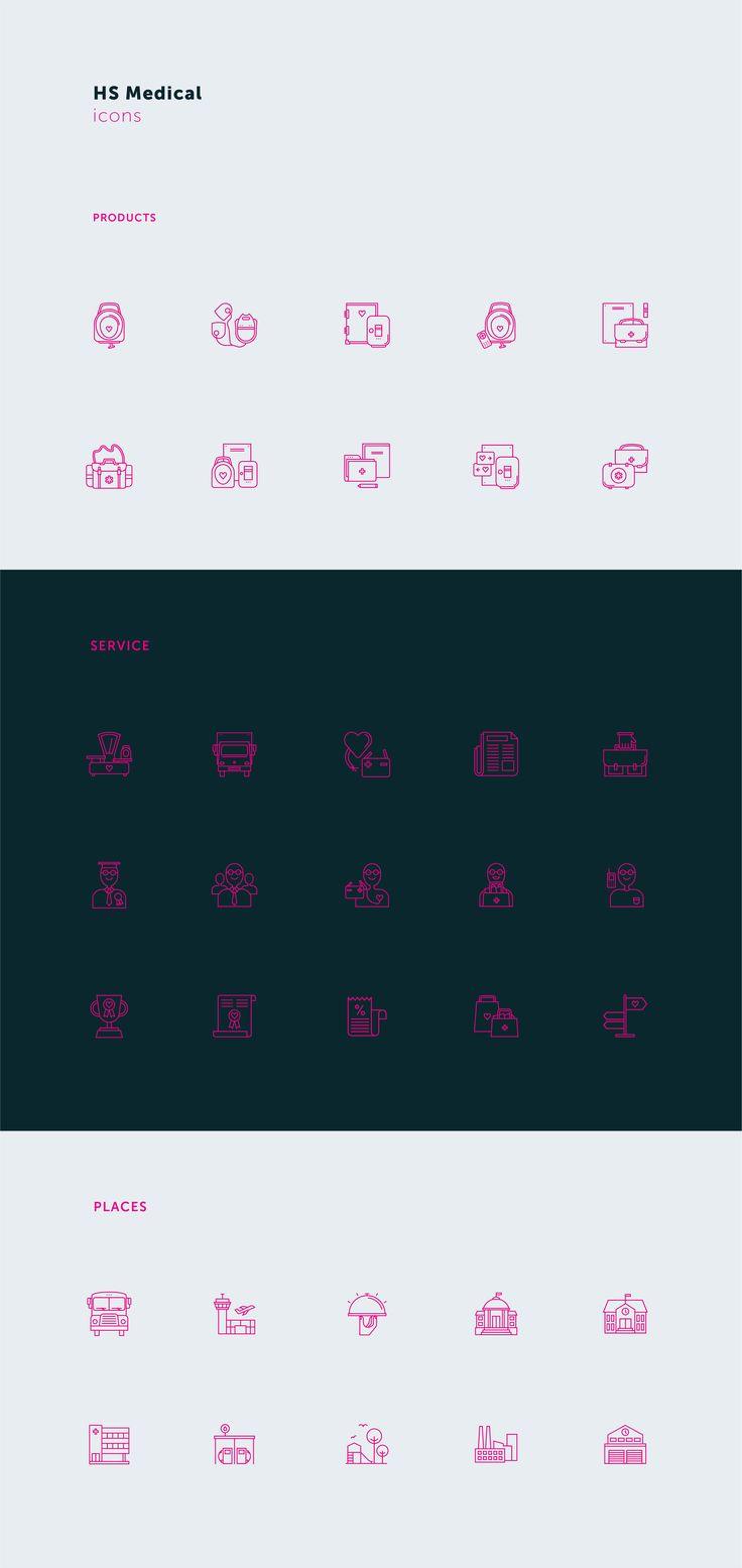 HS Medical Icon Set #pleo #picto #pictograms #icon #iconset